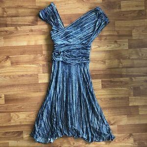 Plenty by Tracy Reese Dreamy Drape Dress Blue